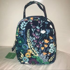 NWT Vera Bradley midnight blue lunch bag insulated